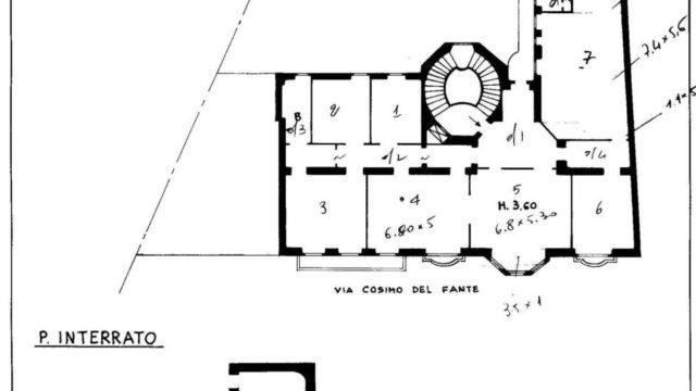 Prestigioso Ufficio 360 mq zona Mercalli-Quadronno