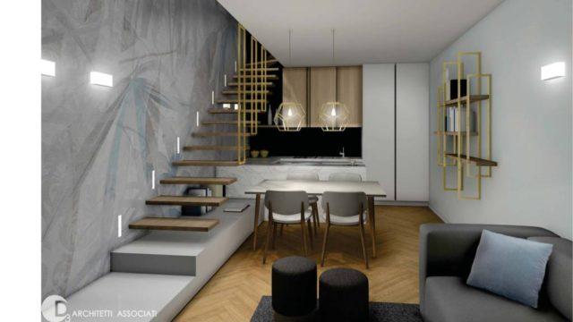 Nuova costruzione Bilocale su due livelli Via Washington / P.le De Agostini
